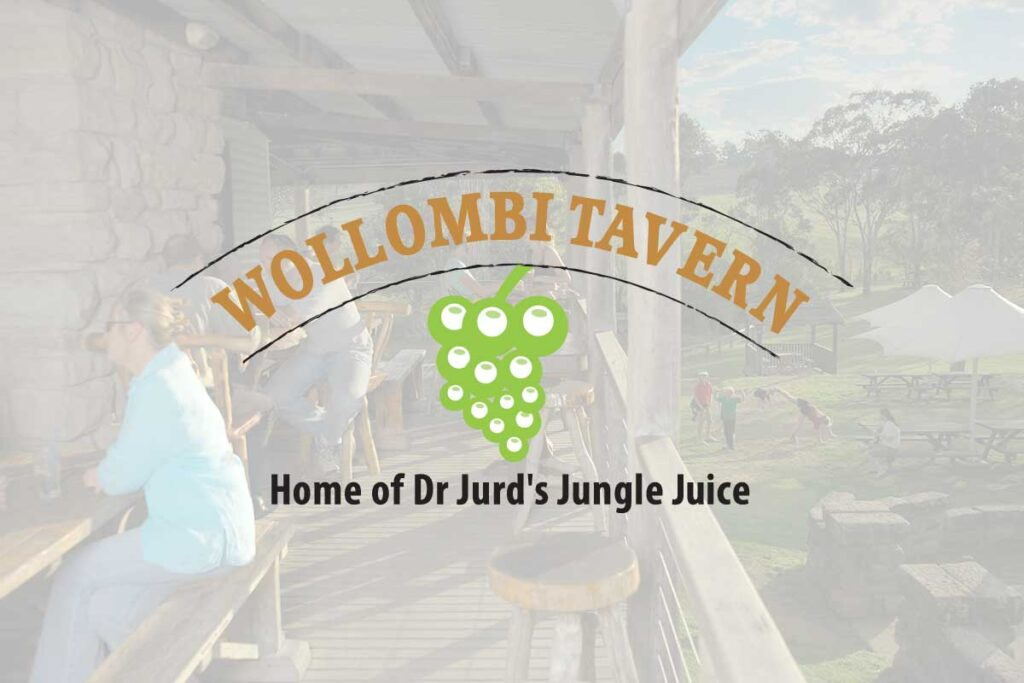 WordPress website, Rapid Websites, Wollombi Tavern