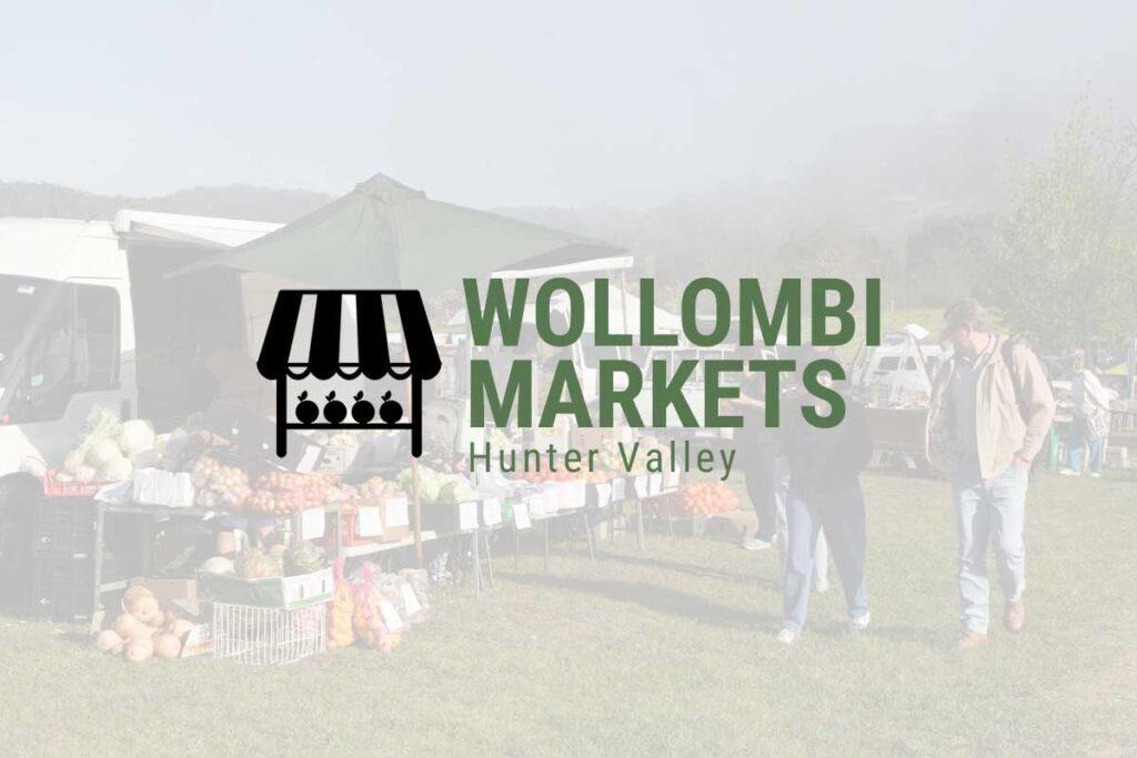 WordPress website, Rapid Websites, Wollombi Markets