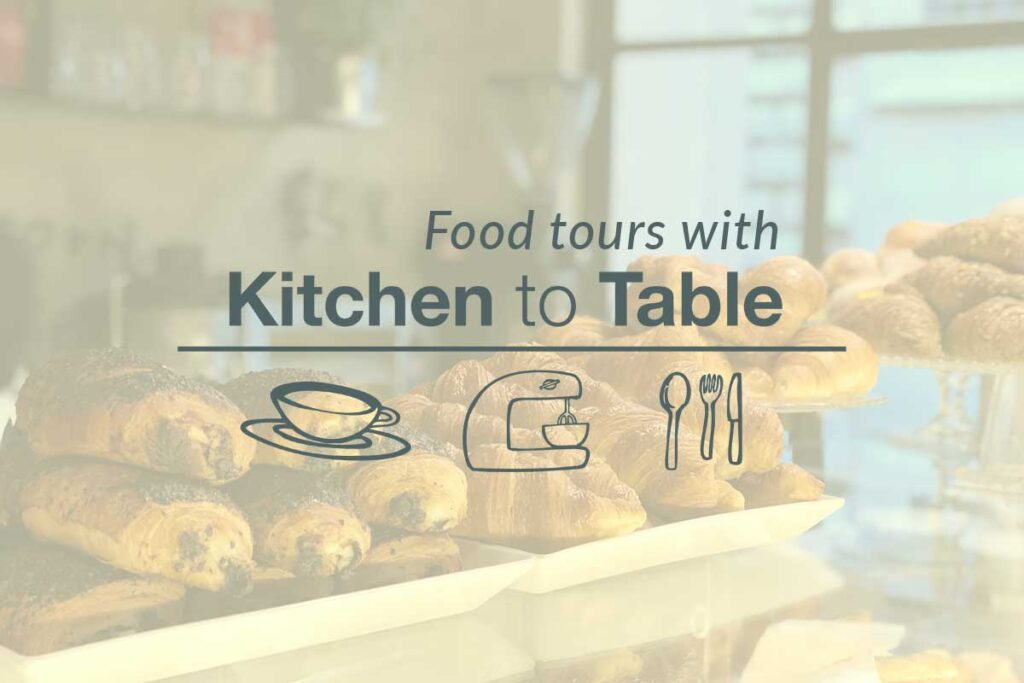 WordPress website, Rapid Websites, Kitchen to Table Food Tours