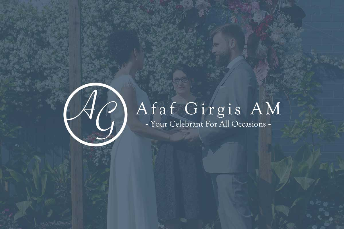WordPress website, Rapid Websites, Afaf Girgis Marriage Celebrant