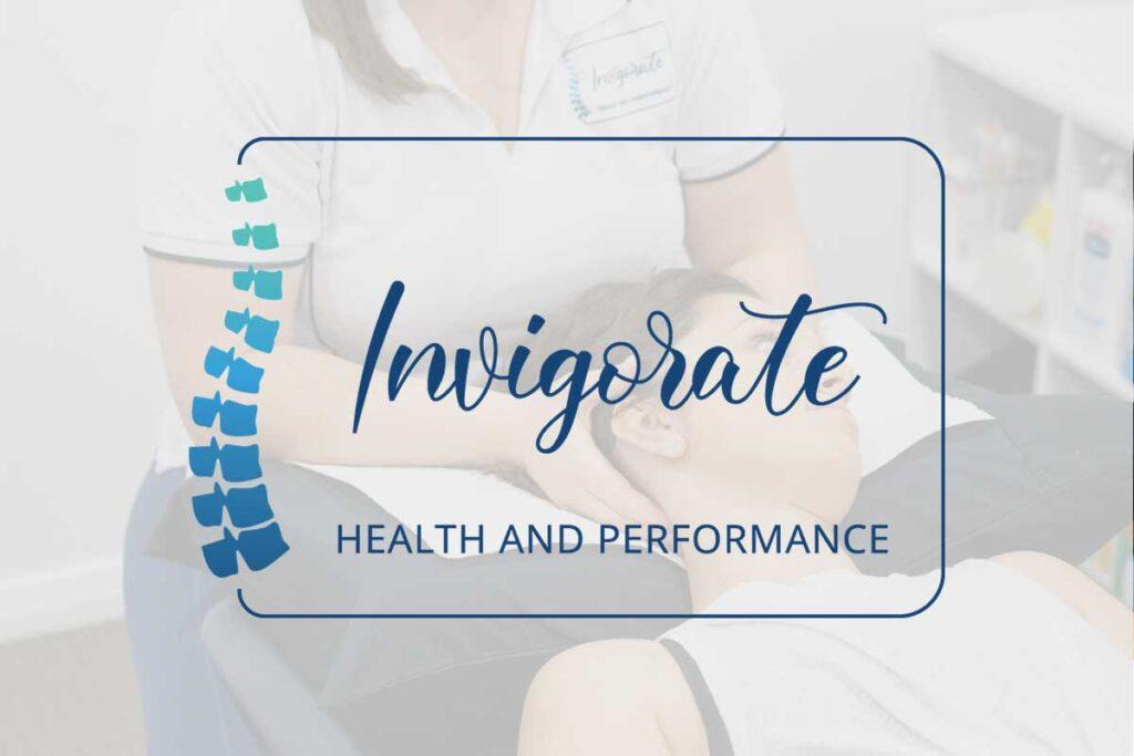WordPress website, Rapid Websites, Invigorate Health and Performance